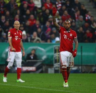 Vidal tras eliminación de Copa de Alemania frente al Dortmund: Estamos destrozados