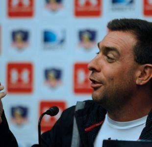 Guede no aclara quién será el arquero titular de Colo Colo y niega pelea con Mark González