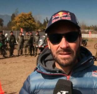 [VIDEO] Francisco Chaleco López visita San Fernando para impartir clases a Carabineros
