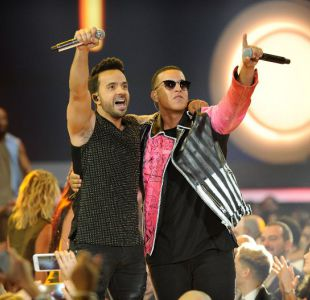 Luis Fonsi y Daddy Yankee en los Premios Billboard