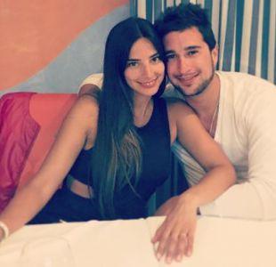 Daniela Castillo y su marido, Luca Monacci