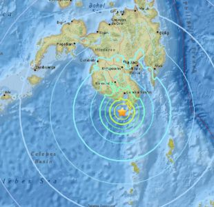 Sismo de 6,8° Richter sacude Filipinas y Onemi descarta alerta de tsunami para Chile