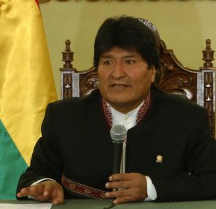 [VIDEO] Evo Morales reconoce error frente a disputa por río Silala