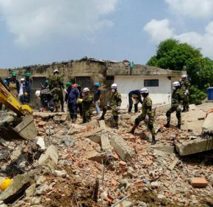 Aumentan a 17 los muertos por colapso de edificio en Colombia