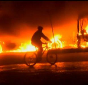 [VIDEO] Noche de furia en Brasil