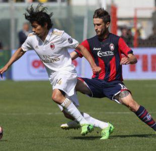 [Minuto a Minuto] Matías Fernández es titular en el duelo Crotone-Milán