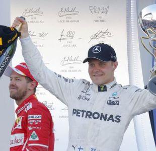 Finlandés Valtteri Bottas con la escudería Mercedes gana el Gran Premio de Rusia