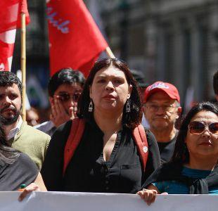 [Minuto a Minuto] Día del trabajador es conmemorado con dos marchas simultáneas en Santiago
