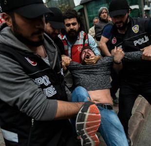 Turquía: Manifestación del Día del Trabajo en Estambul termina con enfrentamientos con la policía
