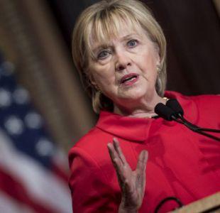 Clinton asegura que perdió la elección por Rusia, WikiLeaks y FBI