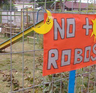 [VIDEO] Reportan que jardines de Santiago han sido víctimas de constantes robos