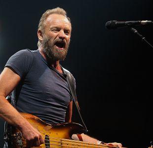 Sting revive su etapa más rockera en un íntimo show en Chile