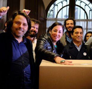 RD presenta firmas para abrir primarias legales en el Frente Amplio