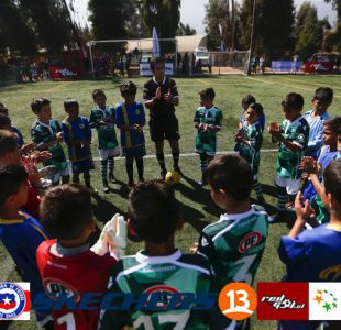 [FOTOS] Fútbol Joven llega a Canal 13: Las mejores postales del torneo Sub 8, 9 y 10 de la ANFP