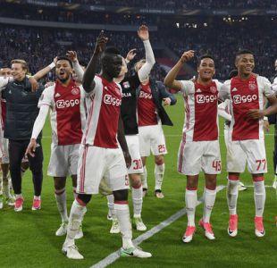 Ajax golea al Lyon y sueña con la final de la Europa League