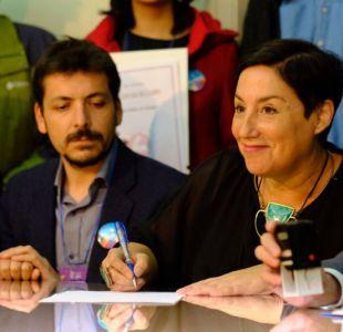 Frente Amplio inscribe las candidaturas de Sánchez y Mayol a las primarias