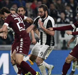 Juventus rescata empate ante Torino y deja en suspenso definición del título en Italia