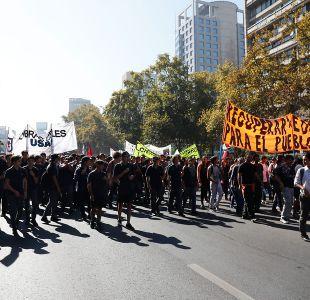 Intendencia autoriza marcha de la Confech por calzada sur de la Alameda