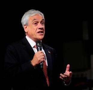 Piñera y eventual salida de Villalobos:  A la Presidenta Bachelet le corresponde esa decisión