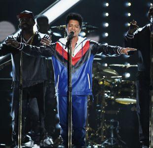 Bruno Mars agota boletos para su show en Chile: solo quedan dos ubicaciones disponibles