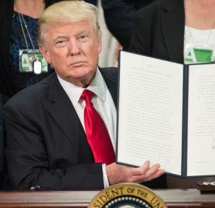 En enero, Donald Trump firmó una orden ejecutiva para autorizar la construcción de una barrera infranqueable en la frontera sur de su país.