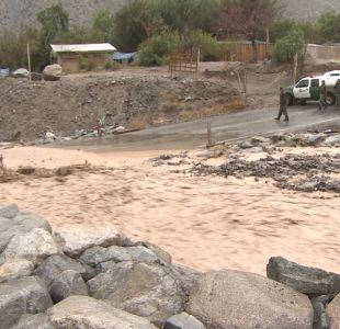 [VIDEO] Evacúan familias por temor a aluviones en Alto del Carmen