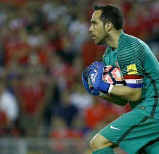 Claudio Bravo realizará clínica para arqueros en Chile antes de viajar a Copa Confederaciones