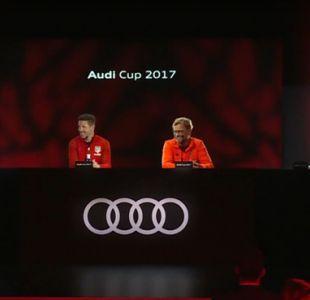 [VIDEO] Con conferencia holográfica Bayern Munich presenta la Audi Cup 2017