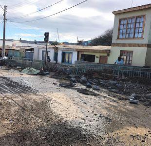 Onemi: dos muertos y más de 2 mil damnificados tras frente de mal tiempo en el norte de Chile