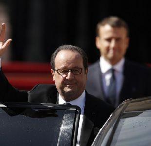 François Hollande deja la presidencia de Francia como uno de los más impopulares del último tiempo