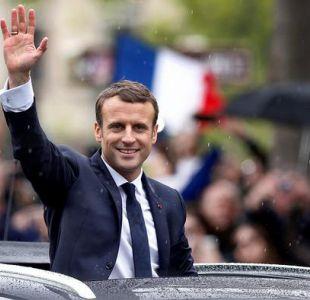 Emmanuel Macron da su primer discurso como presidente centrado en devolver la confianza