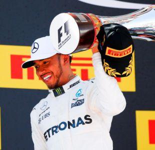 Fórmula Uno: Lewis Hamilton de la escudería Mercedes gana el GP de España