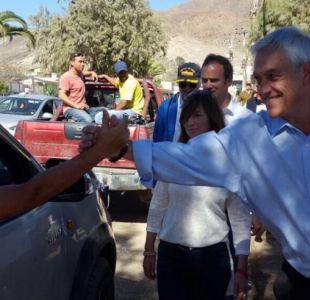 Piñera tras visita a Chañaral: No podemos evitar catástrofes, pero sí debemos enfrentarlas mejor