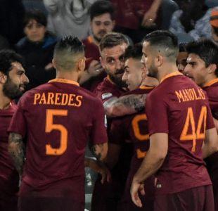Roma se mantiene en la lucha por título de la Serie A al ganar a la Juventus