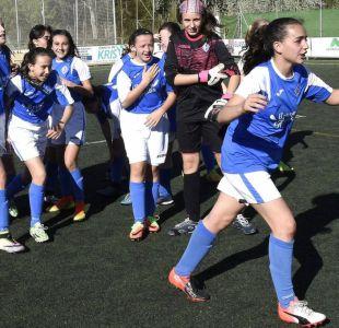 El fascinante título que un equipo de niñas ganó en una liga de fútbol de niños
