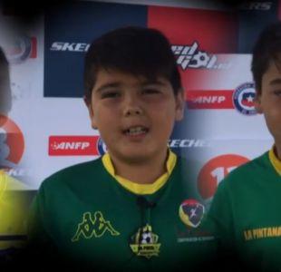 [VIDEO] Las futuras promesas del fútbol chileno entregan su saludo en el día de la madre
