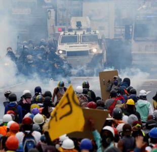 Deportistas venezolanos protestan a su modo