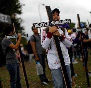 Protestas en Venezuela suman ya 42 muertos en seis semanas