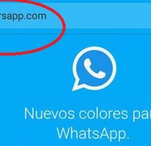 Qué es el fraude del WhatsApp de colores y cómo evitar caer en la trampa