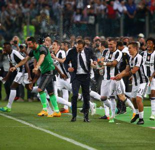 """Juventus logra primer objetivo hacia el """"triplete"""" ganando la Copa Italia ante Lazio"""