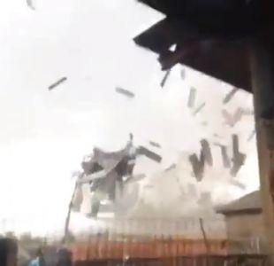 [VIDEO] Los inusuales fenómenos climáticos que se han registrado en Chile