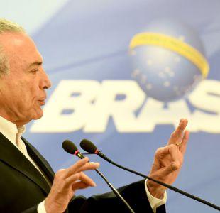 Brasil: Michel Temer pide a la justicia que anule la investigación en su contra
