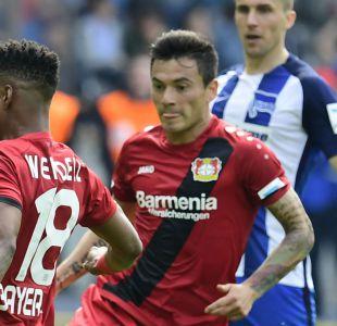 [VIDEO] Charles Aránguiz cierra la temporada con un gol por Bayer Leverkusen