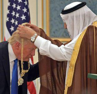 Trump dice en Arabia Saudita que lucha contra terrorismo no es una batalla entre religiones