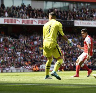 [Minuto a Minuto] Arsenal venció a Everton con gol de Alexis Sánchez en la Premier