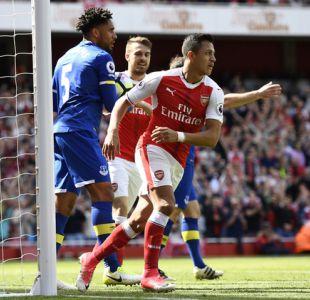 [VIDEO] Alexis Sánchez anota en triunfo de Arsenal que no logra clasificar a Champions