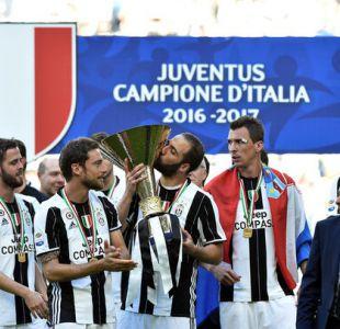 Juventus sigue festejando: Gana su sexta liga italiana consecutiva