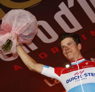 Luxemburgués Jungels ganó la 11ª etapa más rápida en la historia del Giro de Italia