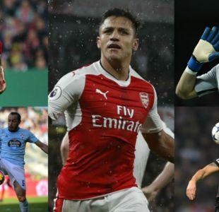 Fin de temporada: ¿Cómo les fue a los chilenos en las principales ligas de Europa?