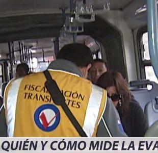 [VIDEO] Medición paralela a la evasión del Transantiago